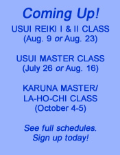upcoming Reiki classes in Atlanta